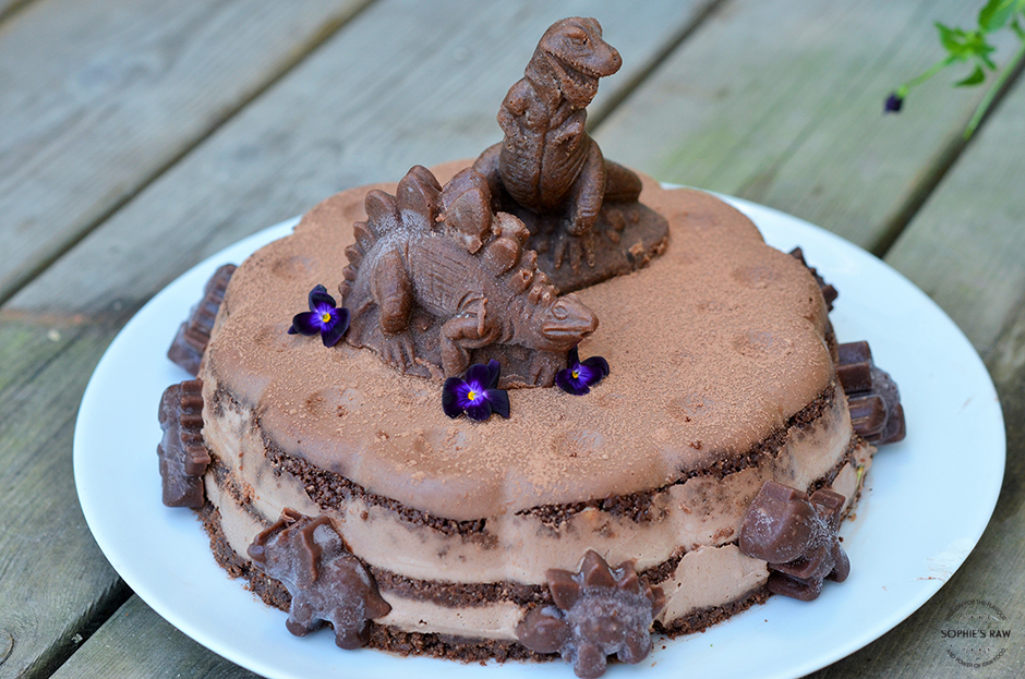 Ben´s dinosaur cake