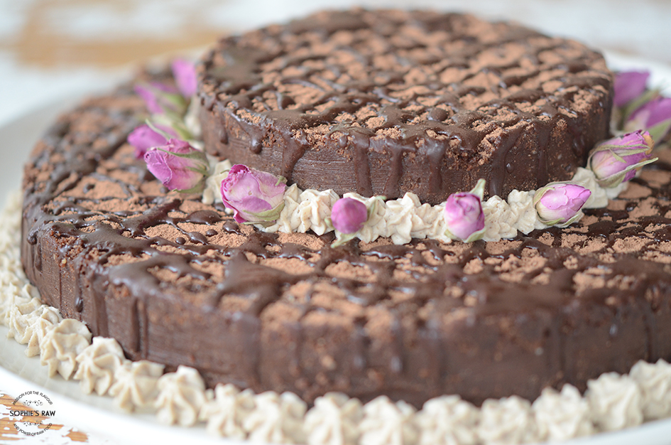 Emilies and friends chocolate mud cake